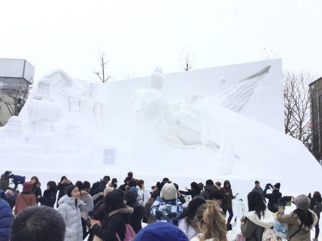 札幌雪まつり2:ファイナルファンタジー
