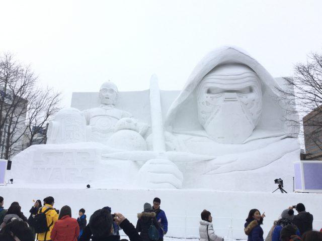 札幌雪まつり7:スター・ウォーズ