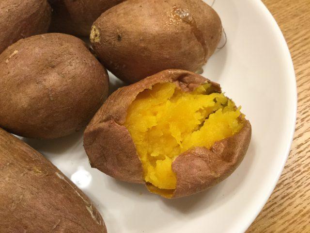 安納芋の焼き芋2