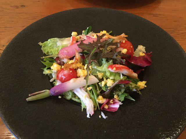 裏参道牛肉ランチ:サラダ