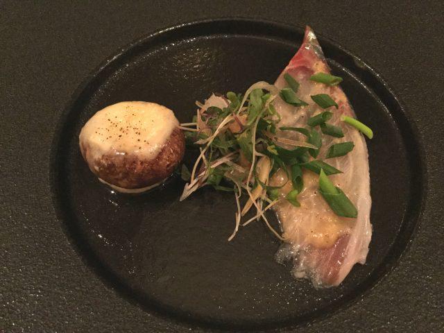 裏参道牛肉店:シマアジ