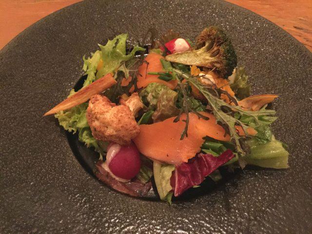 裏参道牛肉店:サラダ
