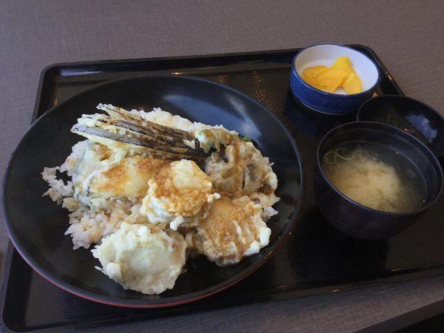 ホタテ天丼