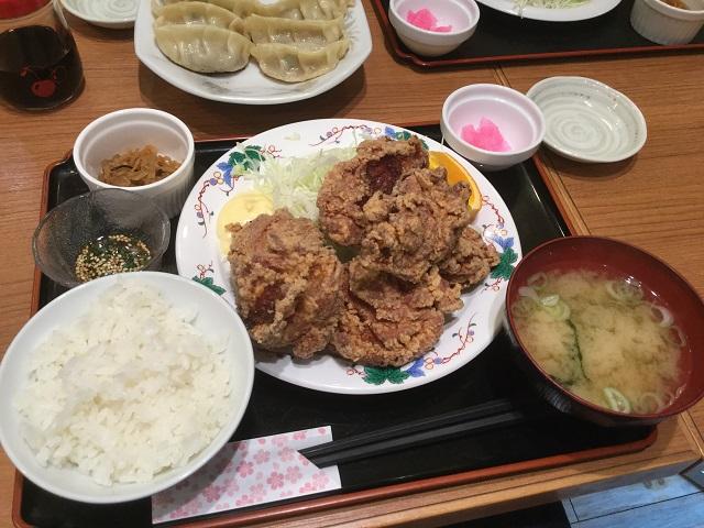 鑓水商店:ザンギ定食