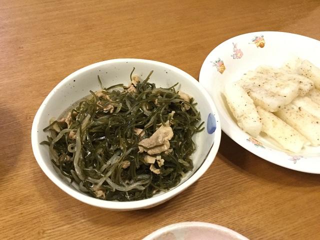 昆布と豚肉の煮物