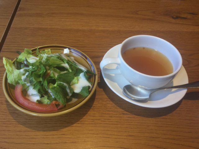 ランチスープ&サラダ