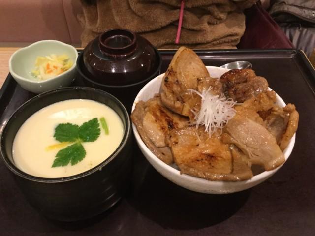 豚丼&ジャンボ茶わん蒸し