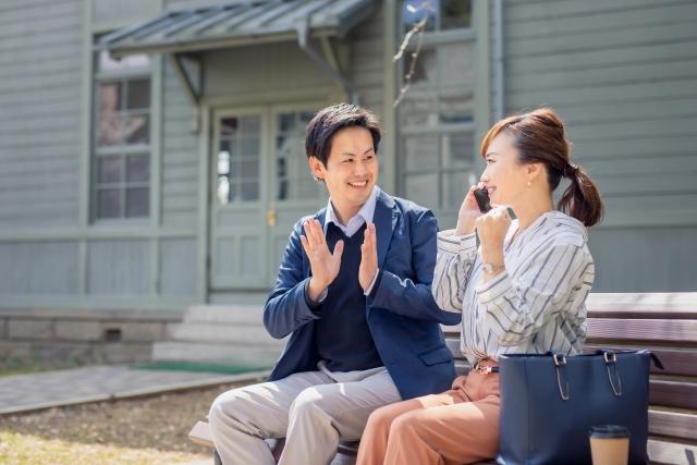 お互いに責任を果たす幸せな夫婦